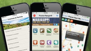 Screenshot Mississippi Fishing, Hunting & Wildlife Guide on iPhone