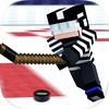 Cops N Robbers Ice Hockey Sport 3D with skin exporter for minecraft