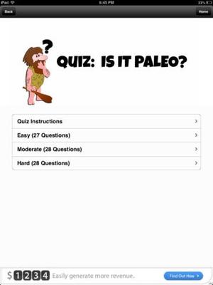 Screenshot A Beginner's Guide to Paleo on iPad