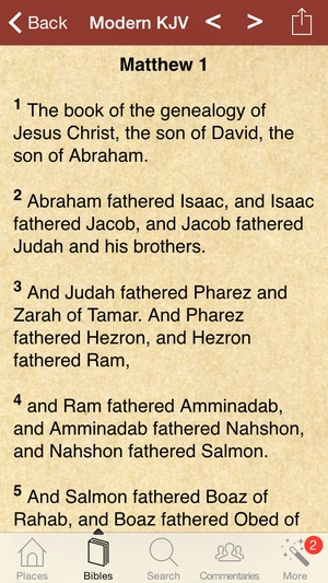 Screenshot 450 Jerusalem Images in the Bible with Commentaries and References on iPhone