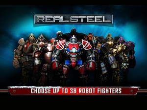 Screenshot Real Steel on iPad
