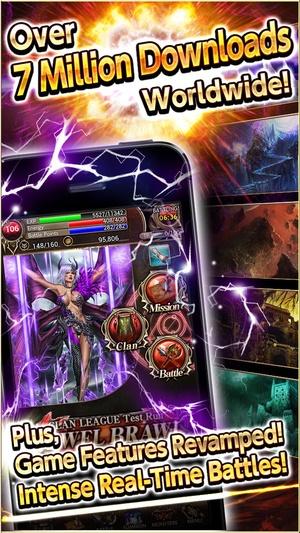 Screenshot Dark Summoner on iPhone