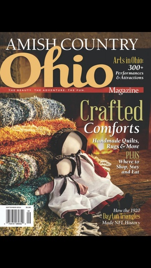 Screenshot Ohio Magazine on iPhone
