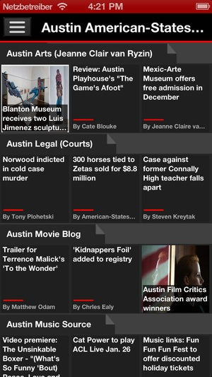 Screenshot US Newspapers Plus ( sunflowerapps ) on iPhone
