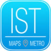 Istanbul Travel Guide with Metro Map and Route Planner Navigator