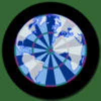 World Map Darts