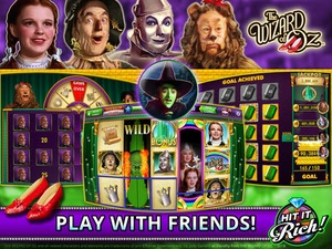 Screenshot Hit it Rich! Free Casino Slots on iPad