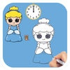 How to Draw Cute Princess Characters Easy for iPad