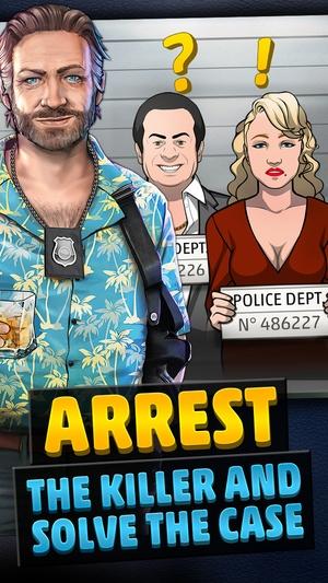 Screenshot Criminal Case on iPhone