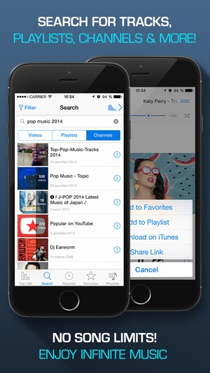 Screenshot Musify for YouTube on iPhone