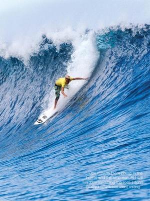 Screenshot SurfGirl on iPad