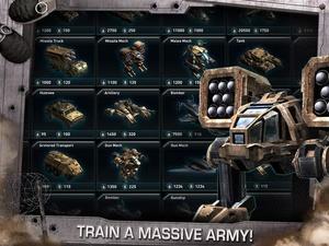 Screenshot War of Nations™ on iPad