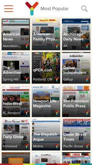 Screenshot myNews Free on iPhone