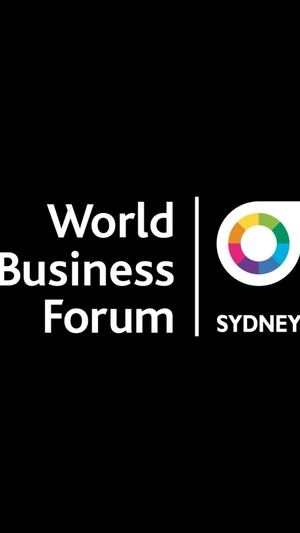 Screenshot World Business Forum Sydney on iPhone