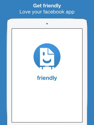 Screenshot Friendly for facebook + messenger on iPad