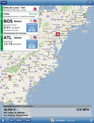 Screenshot Flight Update Pro on iPad