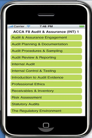 ACCA F8 Audit & Assurance (INT) app downloads & alternatives