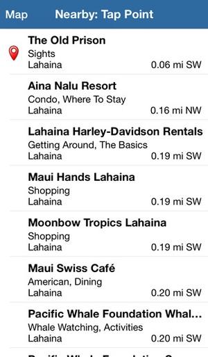 Screenshot Maui Revealed on iPhone