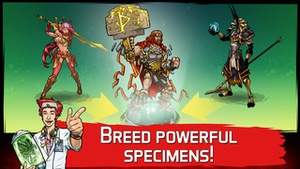 Screenshot Mutants: Genetic Gladiators on iPhone