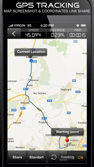 Screenshot Speedometer GPS+ (Car speedometer, Bike cyclometer) on iPhone