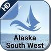 ALASKA SOUTH WEST boating gps