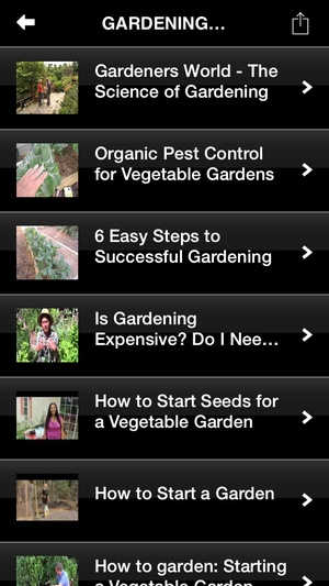 Screenshot Gardening Tips: Learn How To Plant A Garden on iPhone