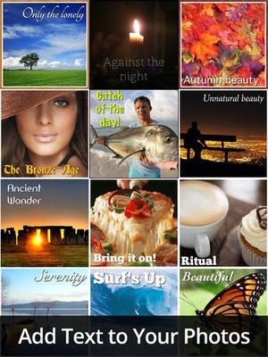 Screenshot Photo Scrapbook on iPad