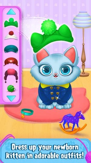 Screenshot My Newborn Kitty  on iPhone