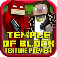 Temple of Block 3D Texture Preview for Minecraft