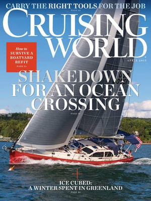 Screenshot Cruising World Mag on iPad