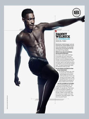 Screenshot Men's Health UK on iPad