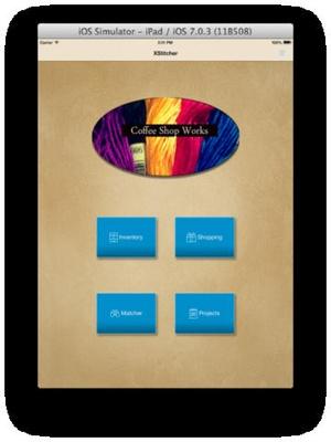 Screenshot XStitcher on iPad