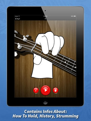 Screenshot Learning Ukulele In 7 Days on iPad