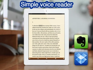 Screenshot Voicepaper on iPad