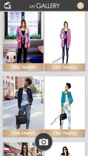 Screenshot Chic Sketch on iPhone