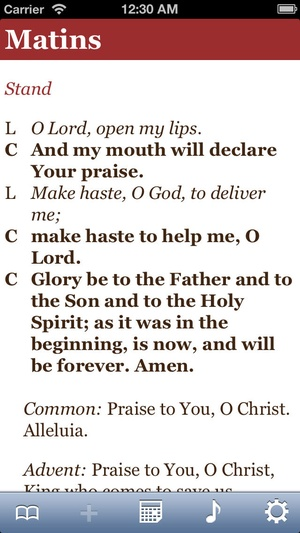 Screenshot PrayNow on iPhone