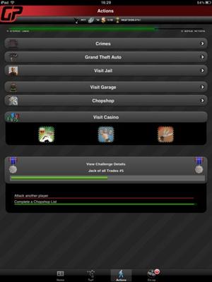 Screenshot Gangster Paradise on iPad