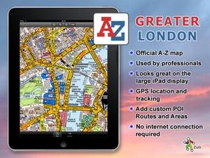 Screenshot Greater London A on iPad