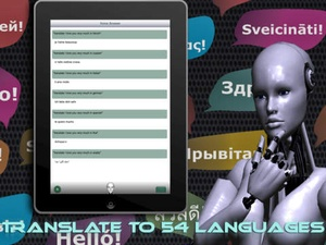 Screenshot Voice Answer on iPad