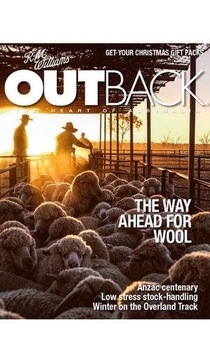 Screenshot Outback Magazine on iPhone