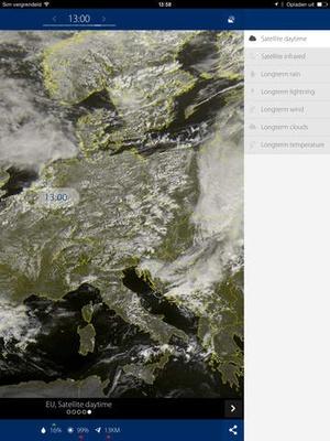 Screenshot Sat24 on iPad