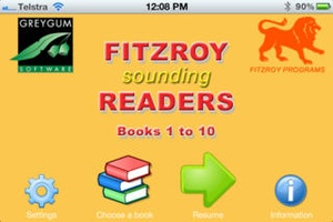 Screenshot Fitzroy Readers Books 1 to 10 on iPhone