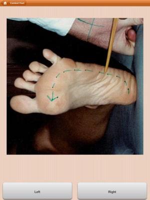 Screenshot Recognise Feet on iPad