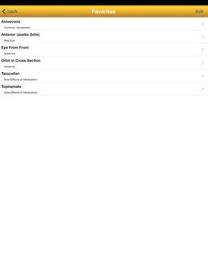 Screenshot EyesHaveIt on iPad