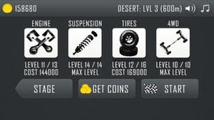 Screenshot Hill Climb Racing on iPhone