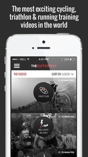 Screenshot The Sufferfest on iPhone