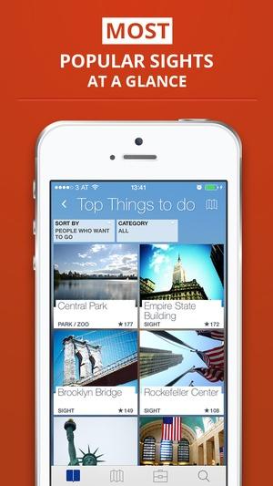 Screenshot tripwolf on iPhone