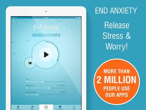Screenshot End Anxiety Hypnosis on iPad