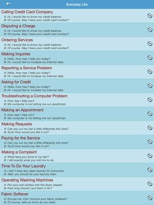 Screenshot English Conversation For Intermediate Learner on iPad