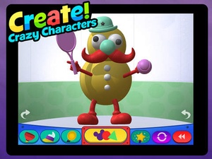 Screenshot Clay Maker: Mickey Mouse Clubhouse on iPad